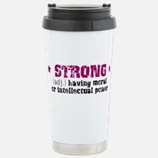 Strong (def) Travel Mug