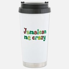 Jamaican me crazy Travel Mug