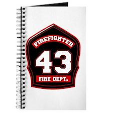 Cute Fire dept Journal