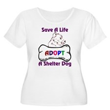 Cute Shelter dog T-Shirt