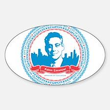 Mayor Rahm Sticker (Oval)