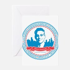 Mayor Rahm Greeting Card