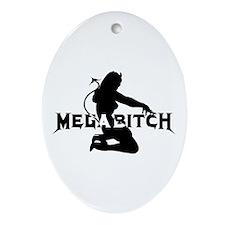 Cute Death metal Ornament (Oval)