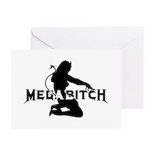 Cute Megabitch Greeting Card