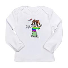 Erin the Hippy Long Sleeve Infant T-Shirt