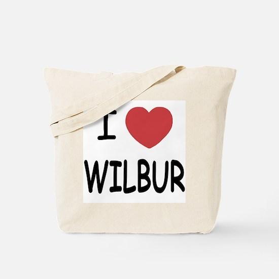 I heart Wilbur Tote Bag