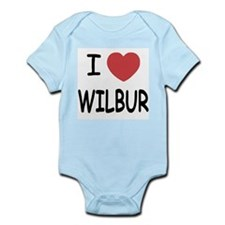 I heart Wilbur Infant Bodysuit