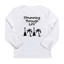 uke ukulele Long Sleeve Infant T-Shirt