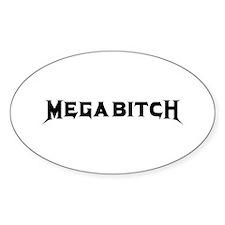 Megabitch Decal