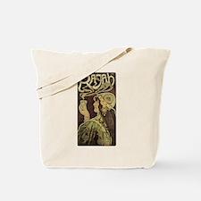 Vintage Cafe Rajah Tote Bag