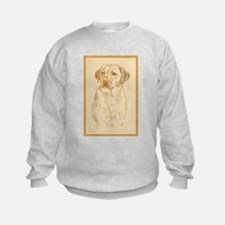 Yellow Labrador Retriever Sweatshirt