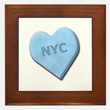 Sweetheart NYC Framed Tile