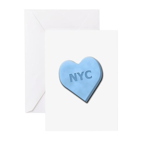 Sweetheart NYC Greeting Cards (Pk of 10)