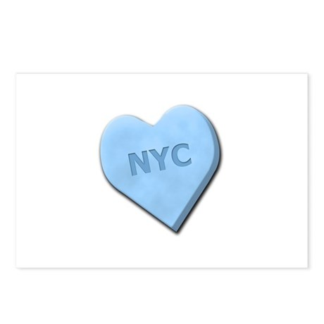 Sweetheart NYC Postcards (Package of 8)