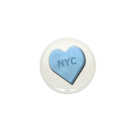 Sweetheart NYC Mini Button (100 pack)