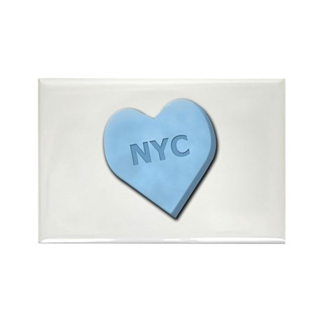 Sweetheart NYC Rectangle Magnet