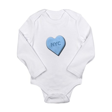Sweetheart NYC Long Sleeve Infant Bodysuit
