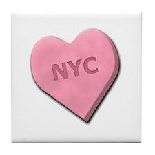 Sweetheart NYC Tile Coaster