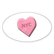 Sweetheart NYC Decal