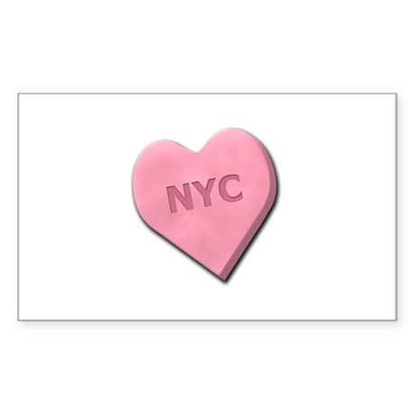 Sweetheart NYC Sticker (Rectangle)