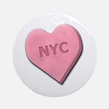 Sweetheart NYC Ornament (Round)