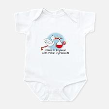Stork Baby Poland England Infant Bodysuit