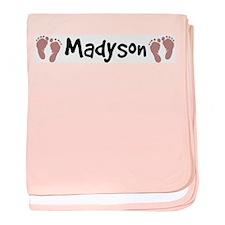 Cute Madyson baby blanket