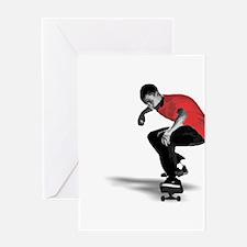 Skater Greeting Card