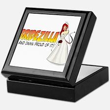 Redhead Bridezilla Keepsake Box