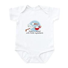 Stork Baby Poland Ireland Infant Bodysuit