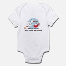 Stork Baby Poland Ireland Infant Bodysuit
