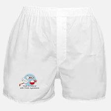 Stork Baby Poland Ireland Boxer Shorts