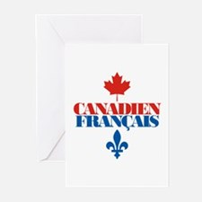 Canadien Francais 2 Greeting Cards (Pk of 10)