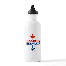 Canadien Francais 2 Sports Water Bottle