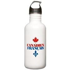 Canadien Francais 2 Water Bottle
