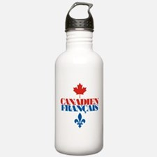Canadien Francais 2 Water Bottle