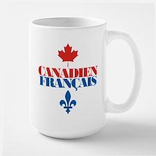Canadien Francais 2 Large Mug