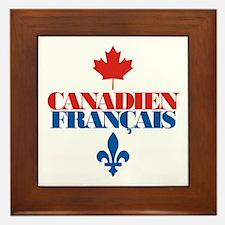 Canadien Francais 2 Framed Tile