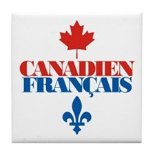 Canadien Francais 2 Tile Coaster