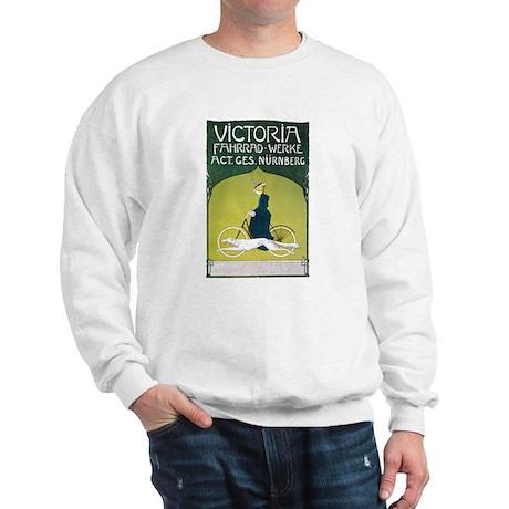Vintage Art Nouveau Poster Sweatshirt