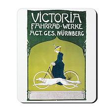 Vintage Art Nouveau Poster Mousepad