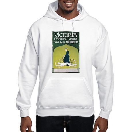 Vintage Art Nouveau Poster Hooded Sweatshirt