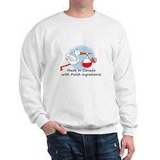 Stork Baby Poland Canada Sweater