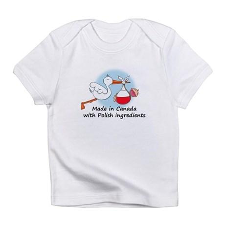 Stork Baby Poland Canada Infant T-Shirt