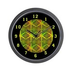 OP ART SERIES:  60's Wall Clock