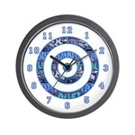 GRAFFITI SERIES:  Graffiti Target Wall Clock