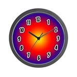 SERIES G:  Sunset Wall Clock