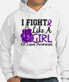 Licensed Fight Like a Girl 15.5 Hoodie
