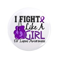 """Licensed Fight Like a Girl 3.5"""" Button (100 pack)"""