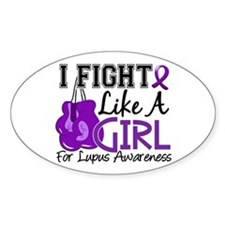 Licensed Fight Like a Girl 15 Decal